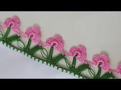 Sıralı Yapraklı Çiçek Oyası Yapımı - YouTube