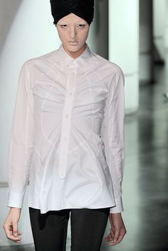 I always get inspired by simplicity, like this one from Junya Watanabe
