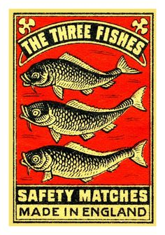 The Three Fishes      Source: marcedith via Kollage Kid on Flickr