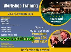 GREECE- Business Opportunity Meeting- Are you in GREECE? WHO DO YOU KNOW IN GREECE?!   Workshop- Training with our President from GERMANY!  Please contact me for your personal invitation and participation!  Sabrina  Sabrina  INDEPENDENT HERBALIFE DISTRIBUTOR   since 1994   https://www.goherbalife.com/goherb/