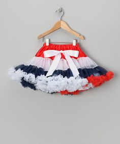 Take a look at this Patriotic Princess Pettiskirt - Infant, Toddler & Girls by Dress Up Dreams Boutique on #zulily today!