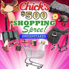 CHICK'S SWEEPSTAKES - Don't Miss Out! You have until Saturday, Dec. 1 at midnight to enter to win a 500 dollar shopping spree or 4 great runner-up prizes!