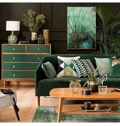 80 Awesome Mid Century Modern Design Ideas is part of Stylish bedroom decor - Modern wood Lamp Dining Rooms 80 Awesome Mid Century Modern Design Ideas Stylish Bedroom Decor, Living Room Green, Interior, Mid Century Living Room, Living Room Scandinavian, House Interior, Home Interior Design, Living Decor, Living Room Designs
