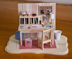My MiNi SCRaPBooK RooM ____my friend @Crystal Chou Dezenosky-Gould made for me