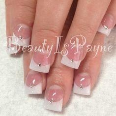 BeautyIsPayne wedding nails