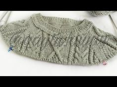 #sueter *chompa para hombre talla S. M. L. #TEJIDO sin costura- video 1 - YouTube Media Luna, Knitting Videos, Baby Knitting, Pullover, Youtube, Sweaters, Jackets, Ideas, Fashion