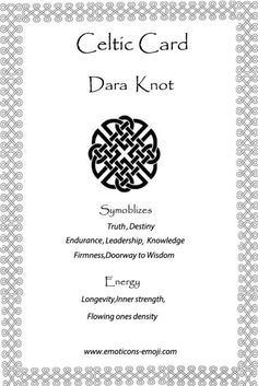 Image result for dara knot