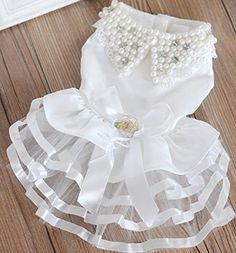 Colorfulhouse® Pet Wedding Dress Cute Dog Dress for Small Puppies *** Click image for more details.