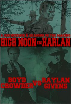 Boyd vs. Raylan...I don't know who to root for!!