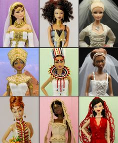 Too cute! My Barbies had nothing like this!!!