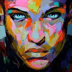 Texture, bold colors, portrait, vibrant color, color inspiration