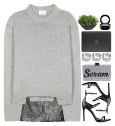 """""""save me from this dark, and bring me back to life"""" by emilypondng ❤ liked on Polyvore featuring Alice + Olivia, Acne Studios, Kendall + Kylie, Edie Parker, ASOS, Incase, Ethan Allen and MAC Cosmetics"""