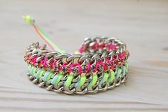 DIY bracelet bling bling par Chouette Fille