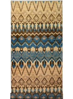"Beige/Tan Oriental Gabbeh Rug 4' x 11' 6"" (ft) - No. 26943"