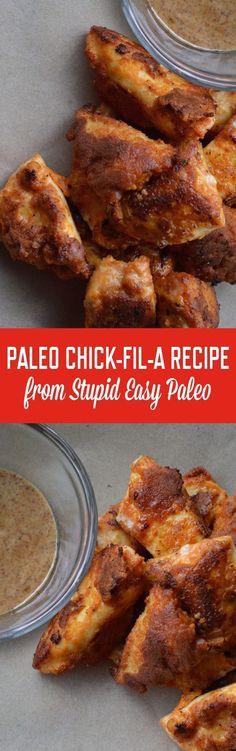 Paleo Chick-Fil_A | http://StupidEasyPaleo.com