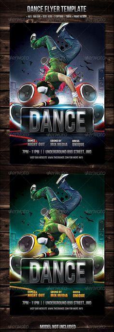 Street Dance Flyer Template Street Dance Flyer Template And Template