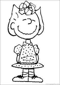 Snoopy Coloring Pages 21