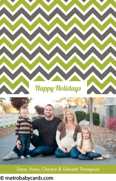 Olive Design - Holiday Cards - www.metrobabycards.com