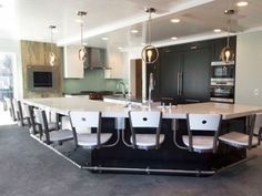 Swing Bar Stools | Suspended Seating | Seating Innovations