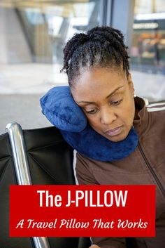 J-Pillow: The travel pillow I never go abroad without, especially on those dreaded long-haul flights. Ever. It's also great for trains, buses and home use.