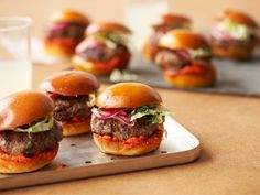Wagyu Beef Sliders - I actually ate these at the Maastricht Food Festival 'Preuvenemint'