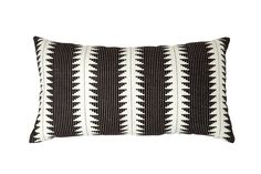 Bold black and white on a stylishly supportive pillow — we'll take two!Threshold Black Global Oversized Lumbar Pillow, $24.99, available at Target.  #refinery29 http://www.refinery29.com/2016/09/121503/new-target-fall-home-collection#slide-25