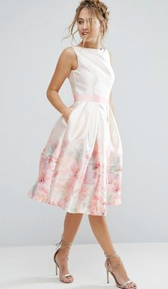 5cd62349068d Chi Chi London Satin 2 In 1 Printed Midi Dress