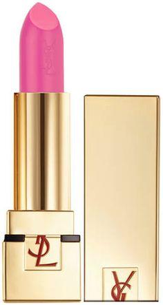 Rouge à lèvres rose claire Pur Couture Yves Saint Laurent