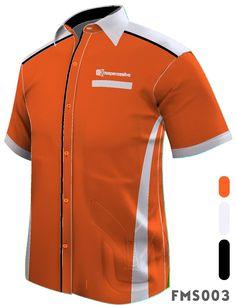 Baju Korporat Please Call 602 5269 Corporate Shirts, Corporate Wear, Branded Shirts, Custom Shirts, Latest African Men Fashion, Stylish Scrubs, Uniform Shop, Uniform Design, Suit Fashion