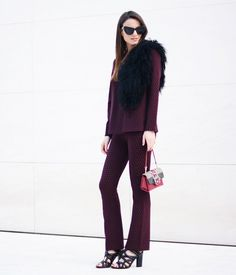 Burgundy   The+6+Best+Colors+For+The+Girl+Who+Always+Wears+Black+via+@WhoWhatWear