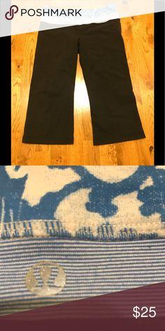 5d1da16c3 LULULEMON yoga pants Lululemon yoga pants. Size 8. Used, slightly faded but  still