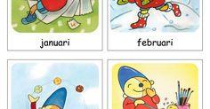 Maanden (Pompom).pdf School, Seasons, Comics, 2d, Frozen, Winter, Winter Time, Schools, Seasons Of The Year