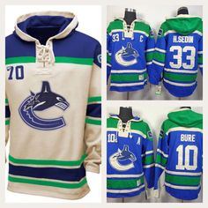 Vancouver Canucks NHL Hockey Team Apparel Hoodies