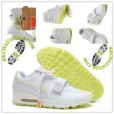 official photos 5af67 405f8 Montante   Nike Chaussure Sport Air Max 90 2016 Femme Wei Tesi Series Blanc  Air Max