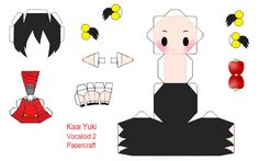 Vocaloid Yuki Papercraft by beautifuldisaster634 on DeviantArt