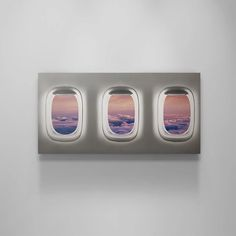 Airplane Window, Canvas Art, Canvas Prints, Finger Joint, Airplane Travel, World Traveler, Boy Room, Decoration, Travel Style