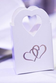 50 White Wedding Favour Favor Sweet Cake Boxes Bags Only £6.99 - Anniversary 3f8b80435
