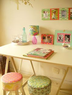 """""""Atelier""""    like the room colors and the lamp itself"""