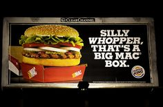 Silly Whopper - Burger King