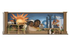 Diego Rivera~ Mexican painter and communist icon Diego Rivera was celebrated on Google's homepage Dec. 8.