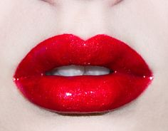Makeup Inspiration | Red Glossy Lips Lime Crime