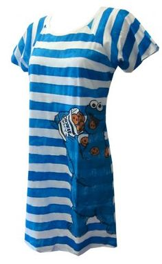 Got a sweet tooth like Cookie Monster  These night shirts for women feature  Sesame Street s e830ffe70