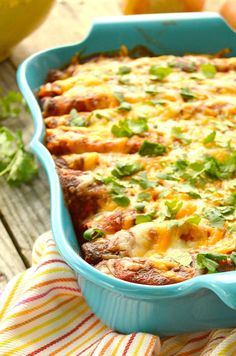 Shredded Chicken Enchiladas loaded with lots of chicken,  gooey cheese, sour cream and mild green chilies. Delicious and healthy~always a family favorite. Use a rotisserie chicken and dinners a snap!  Easy Chicken Enchiladas. I think I've made this recipe more than any other recipe I have. Seriously, I love theses Creamy Chicken Enchiladas! This has been a family …