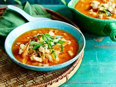 This spicy pork and prawn soup is full of punchy Asian-inspired flavours and ingredients. A recipe that's sure to kick-start your taste buds on chilly winter evenings