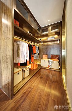 【新提醒】奥迅设计-广州·嘉裕公馆三期 ... Closet Vanity, Wardrobe Closet, Closet Space, Mohamed Ali, Walking Closet, Interior Decorating, Interior Design, Dressing Rooms, Furniture Design