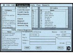 Early Macintosh screenshot - CHM Revolution
