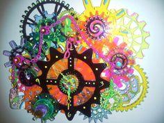 Spyro Graffiti Clock  at Art and Soul Retreat