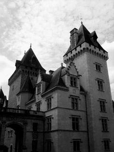 A castle of Louis XI (France)
