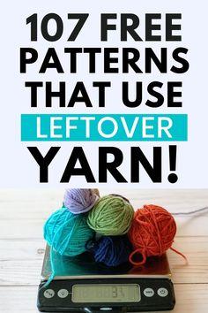 Scrap Yarn Crochet, Knit Or Crochet, Crochet Gifts, Easy Crochet, Free Crochet, Crochet Ideas, Crochet Stitches, Chrochet, Cross Stitches