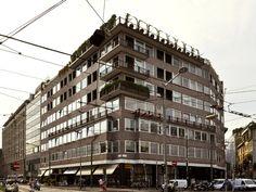 Edificio per abitazioni e uffici - Brera-Garibaldi, historical town, modern and contemporary art - itineraries - Ordine degli architetti, P....